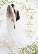 Nephew & Wife Wedding Card